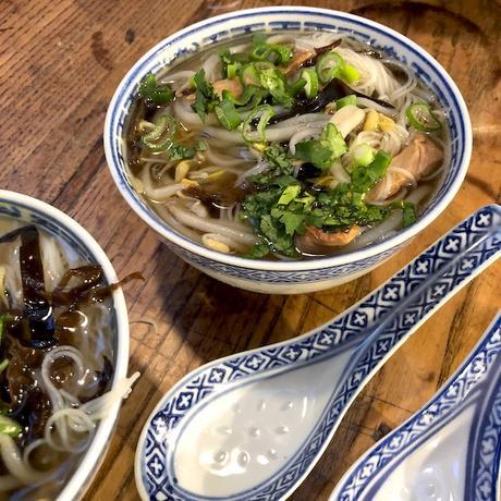 soupe chinoise au porc
