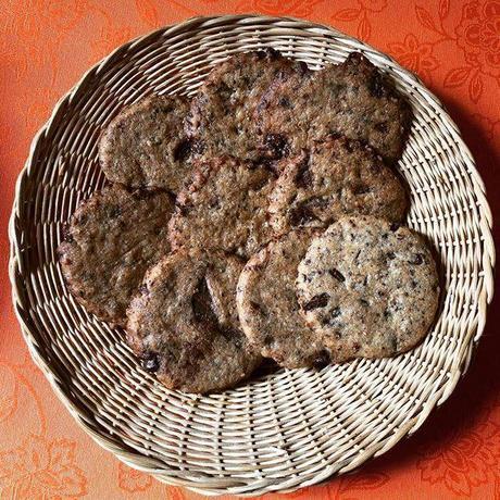 petits palets au chocolat alias cookies