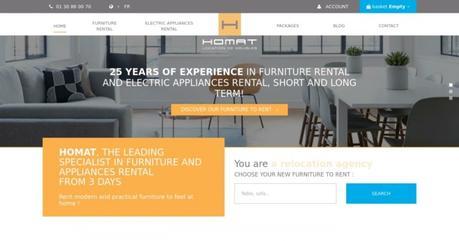 {Interview} Homat, expert en location de meubles
