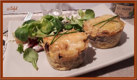 Omelette Champignons et Pommes de terre