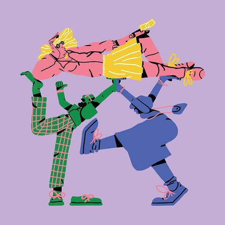 Crazy illustrations by Sebastian Curi