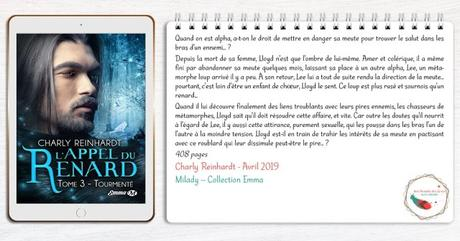 L'Appel du Renard #3 – Tourmenté – Charly Reinhardt