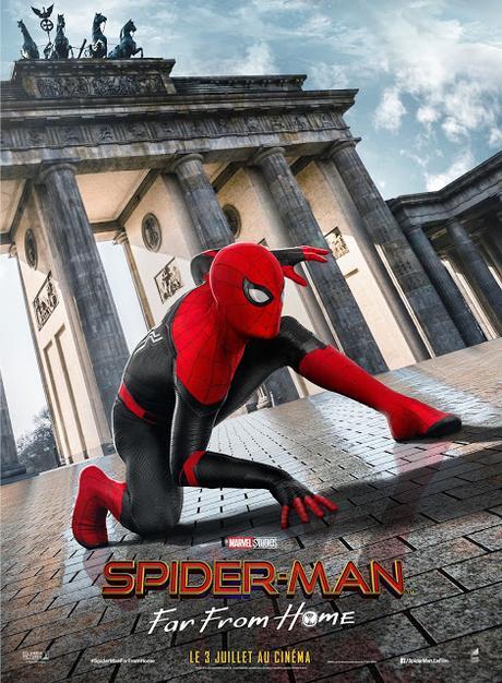 Nouvelle image officielle pour Spider-Man : Far From Home de Jon Watts