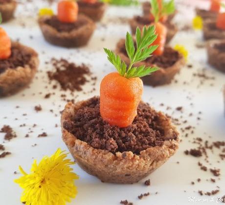 Cookies cup de Pâques façon mini potager
