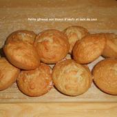Petits gâteaux aux blancs d'oeufs et noix de coco - Mes recettes et photos de gâteaux