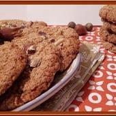Cookies à la purée de noisettes - Oh, la gourmande..