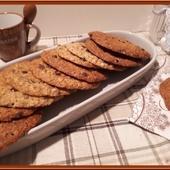 Cookies au Chocolat et à l'Avoine - Oh, la gourmande..
