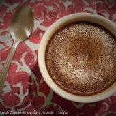 Crème au chocolat au lait concentré d'après ma Cop's : Oh, La Gourmande - Les recettes de Zaza et de ses Cop's.