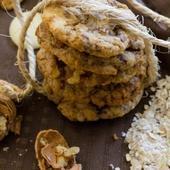 COOKIES PEPITES DE CHOCOLAT ET FLOCONS D'AVOINE - La Cuisine de AMAL