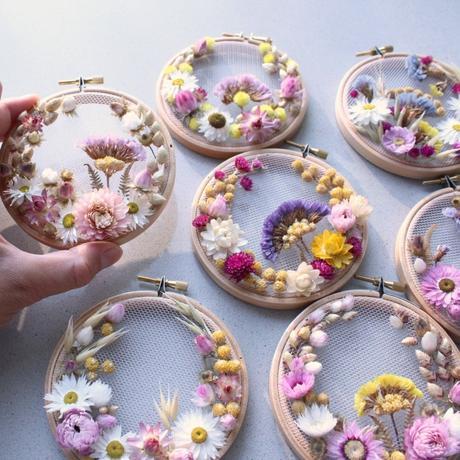 broderie florale originale décoration tissu déco maison intérieur diy