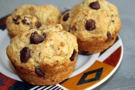 muffins banane et chocolat au thermomix