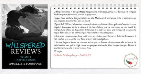 Whispered Reviews #1 – Haper & Knox – Amheliie & Maryrhage