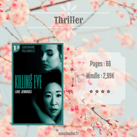 Killing Eve #1 – Codename Villanelle (Épisodes 1 & 2) » Luke Jennings