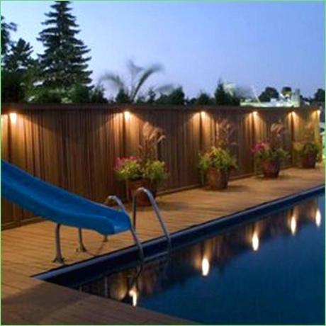 fence post lights fence post solar lights lighting for posts light reviews low voltage led fence post lights