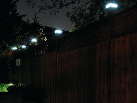 fence post lights post lights best post lights solar fence post lights 6x6