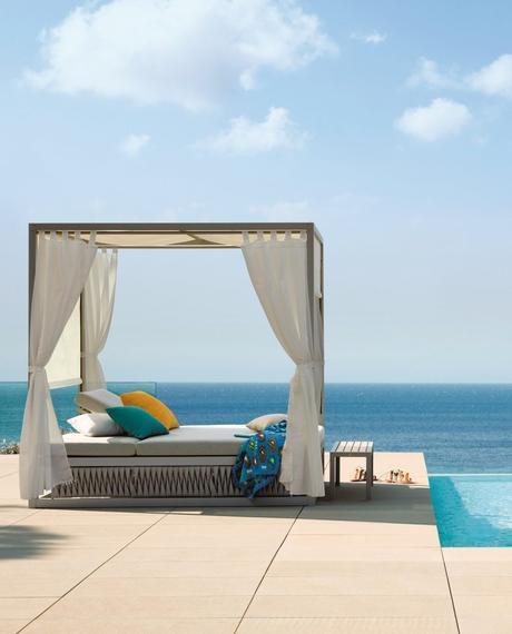 Le mobilier outdoor haut de gamme par Sifas