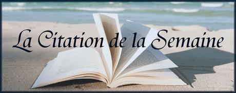 #34 La Citation de la Semaine