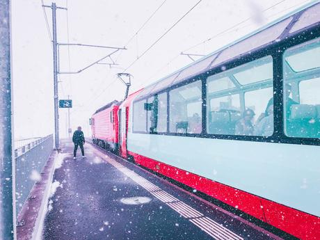 Le Glacier Express, le train le plus lent du monde - Bernina Express - Suisse - laquotidiennedele