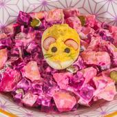 Rosolje, salade de betterave aux pommes de terre estonienne