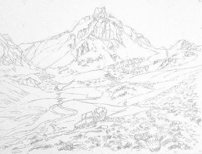 Le Bec du Lièvre (Col de Larches, Alpes-de-Haute-Provence)
