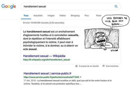 Des employées de Google victimes de représailles après avoir pris position contre le harcèlement sexuel