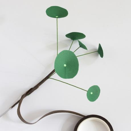 Plante en papier DIY : la solution idéale quand on n'a pas la main verte !