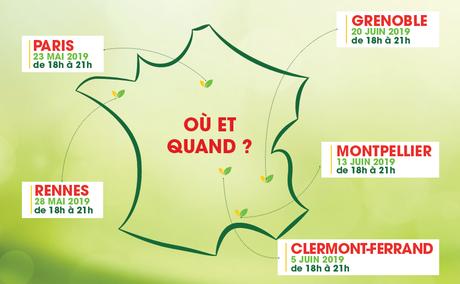 Bio Village installe son grand pique‑nique bio et gratuit à Paris
