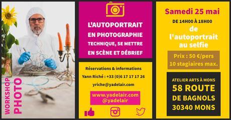 Workshop du portrait au selfie le 25 mai