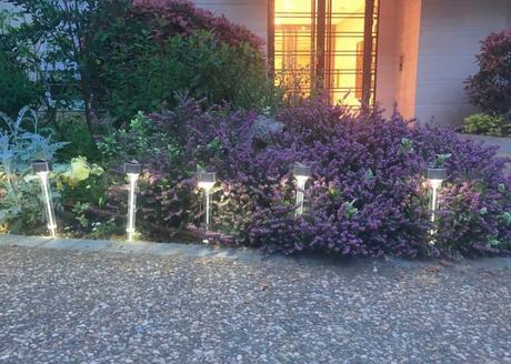avis lampe piquet led jardin chemin test solaire clematc