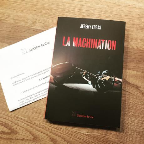 [SP] J'ai lu: La machination de Jeremy Ergas