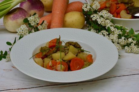Jardinière de légumes de printemps
