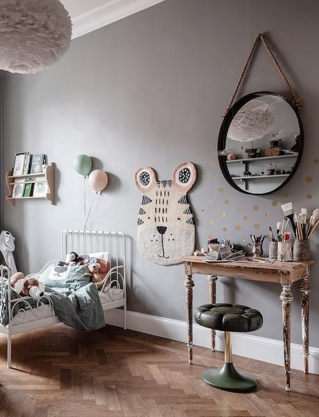 ambiance rustique chambre enfant meuble bois - blog déco - clem around the corner