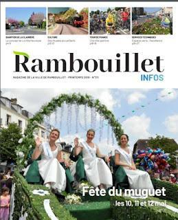 Fête du muguet à Rambouillet