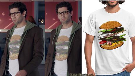 DEMAIN NOUS APPARTIENT : le t-shirt hamburger de Georges dans l'épisode 445