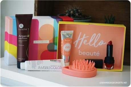 Birchbox d'Avril : Pop Couleurs