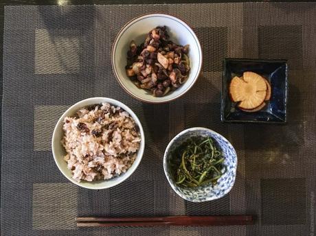Festin zen – Riz gluant aux azukis (Sekihan)