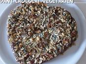 Fondant chocolat fruits secs végétarien pour Saint Valentin