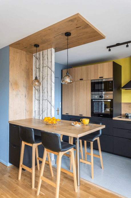 20 astuces pour réussir une cuisine ouverte sur salon