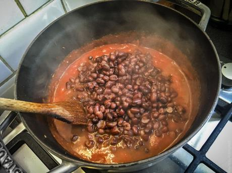 Du Japon vers l'Inde – Rajma (curry de haricots rouges)