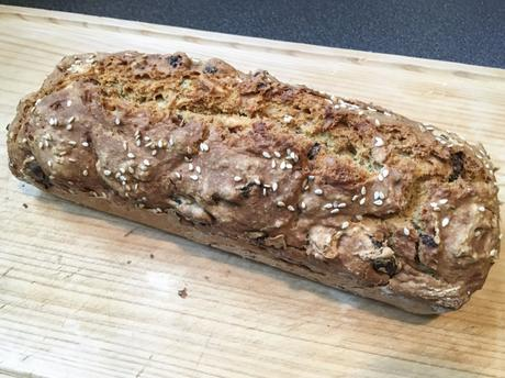 Sportif ! – Soda bread moulé, aux fruits secs