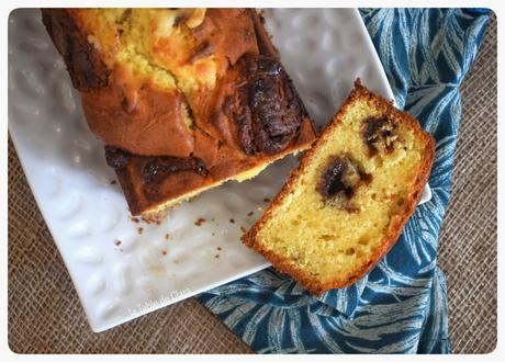 Cake Vanille et chocolat de Pâques