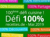 Défi cuisine 2019 100%