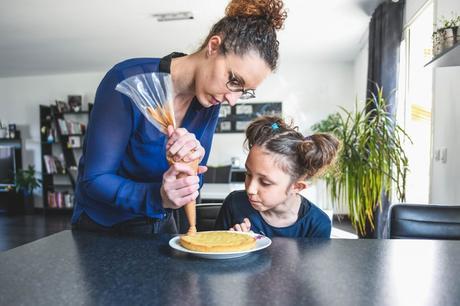 Une tarte au chocolat aux allures de Pâques {Ookies Box}