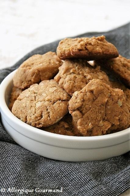 Biscuits aux flocons de sarrasin { sans gluten, sans lait, sans œufs }