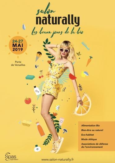 Naturally : un salon bio et bien-être à Paris du 24 au 27 mai