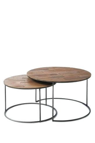 maison coffee table bestseller the market coffee table diameter set of 2