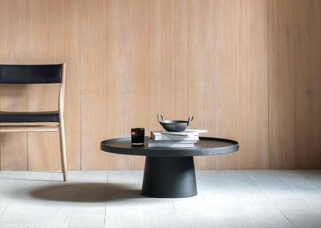 maison coffee table design studio pinch designed the coffee table using a single material formed into a simple shape