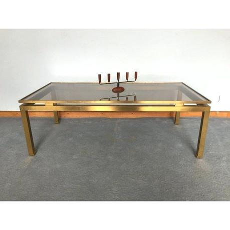 maison coffee table vintage designer furniture