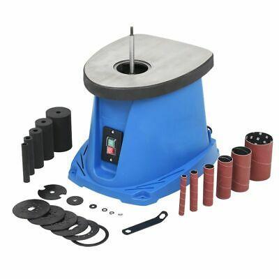 vidaXL Ponceuse à Axe Oscillant 450 W Bleu Outil de Ponçage Meuleuse Bois  -   1 -