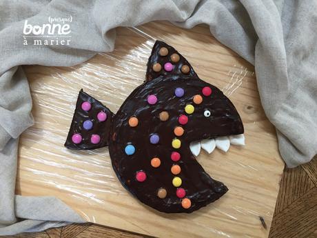 Piranhacake au chocolat {gâteau poisson}